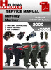 Thumbnail Mercury Mariner Outboard 115 HP DFI Optimax 2000-2005 Service Repair Manual Download