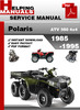 Thumbnail Polaris ATV 350 6x6 1985-1995 Service Repair Manual Download
