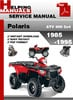 Thumbnail Polaris ATV 400 2x4 1985-1995 Service Repair Manual Download