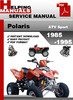 Thumbnail Polaris ATV Sport 1985-1995 Service Repair Manual Download