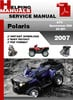 Thumbnail Polaris ATV Sportsman 500 X2 EFI 2007 Service Repair Manual Download