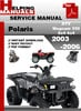 Thumbnail Polaris ATV Magnum 330 2x4 4x4 2003-2006 Service Repair Manual Download