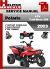 Thumbnail Polaris ATV  Trail Boss 330 2003 Service Repair Manual Download