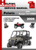 Thumbnail Polaris ATV Ranger 4x4 CREW 2009 Service Repair Manual Download
