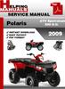 Thumbnail Polaris ATV Sportsman 500 H.O. 2009 Service Repair Manual Download