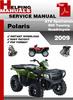 Thumbnail Polaris ATV Sportsman 500 Touring Quadricycle 2009 Service Repair Manual Download