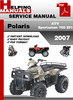 Thumbnail Polaris ATV Sportsman 700 EFI 2007 Service Repair Manual Download