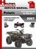 Thumbnail Polaris ATV Sportsman X2 800 EFI 2007 Service Repair Manual Download