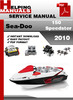 Thumbnail Sea-Doo 150 Speedster 2010 Service Repair Manual Download