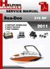 Thumbnail Sea-Doo 210 Challanger 2011 Service Repair Manual Download