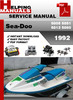 Thumbnail Sea-Doo 5805 5851 5812 5860 1992 Service Repair Manual Downl