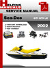 Thumbnail Sea-Doo GTI GTI LE 2002 Service Repair Manual Download