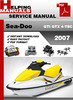 Thumbnail Sea-Doo GTI GTX 4-TEC 2007 Service Repair Manual Download