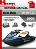 Thumbnail Sea-Doo GTI GTX 4-Tec 2006 Service Repair Manual Download