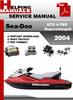 Thumbnail Sea-Doo GTX 4-TEC Supercharged 2004 Service Repair Manual Do