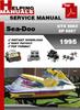 Thumbnail Sea-Doo GTX 5863 XP 5857 1995 Service Repair Manual Download