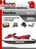 Thumbnail Sea-Doo GTX DI 2003 Service Repair Manual Download