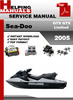 Thumbnail Sea-Doo GTX GTX Limited 2005 Service Repair Manual Download