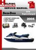 Thumbnail Sea-Doo GTX Supercharged 2005 Service Repair Manual Download