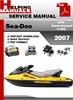 Thumbnail Sea-Doo GTX Supercharged 4-TEC 2007 Service Repair Manual Do