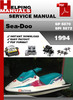 Thumbnail Sea-Doo SP 5870 SPI 5872 1994 Service Repair Manual Download