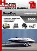 Thumbnail Sea-Doo SPEEDSTER 2000 Service Repair Manual Download