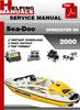Thumbnail Sea-Doo SPEEDSTER SK 2000 Service Repair Manual Download