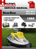 Thumbnail Sea-Doo SPX 5874 GTS 5815 1995 Service Repair Manual Downloa