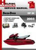 Thumbnail Sea-Doo XP DI 2003 Service Repair Manual Download