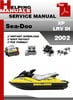 Thumbnail Sea-Doo XP LRV DI 2002 Service Repair Manual Download
