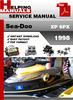 Thumbnail Sea-Doo XP SPX 1998 Service Repair Manual Download
