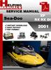 Thumbnail Sea-Doo XP RX RX DI 2001 Service Repair Manual Download