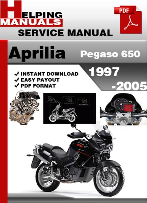 Aprilia Pegaso 650 1997 2005 Service Repair Manual Download Tradebit