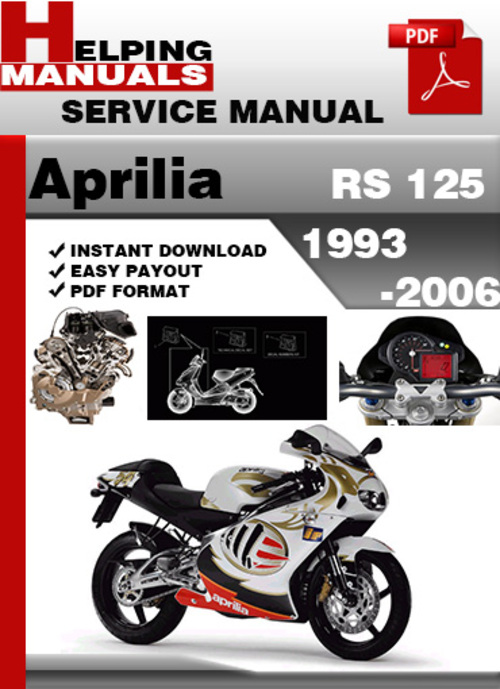 pay for aprilia rs 125 1993-2006 service repair manual download