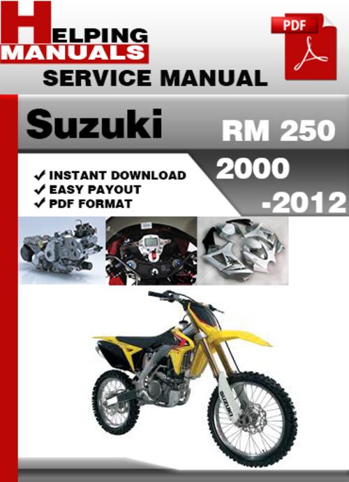 2006 suzuki rmz 250 manual free download