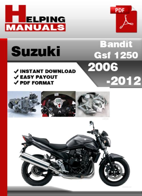 Suzuki Bandit Gsf 1250 2006