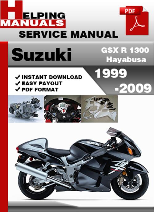 2004 suzuki hayabusa service manual pdf