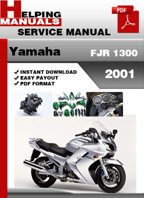 yamaha fjr1300 2001 factory service repair manual download pdf