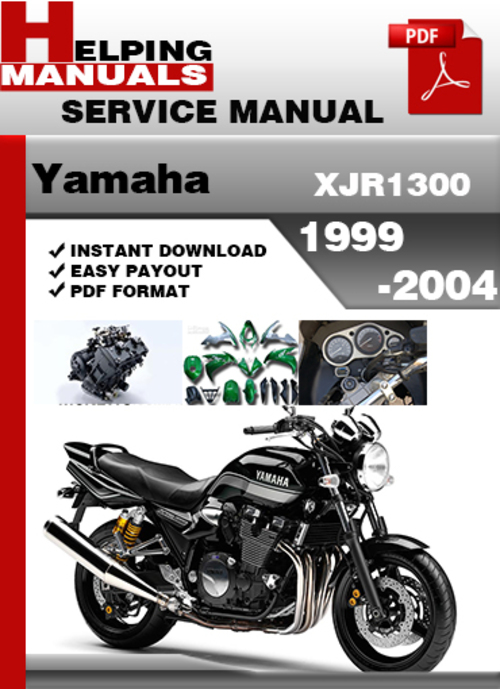Pay for Yamaha XJR1300 1999-2004 Service Repair Manual Download