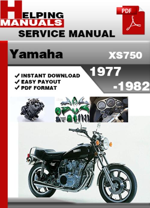 Free Yamaha XS750 1977-1982 Service Repair Manual Download Download thumbnail
