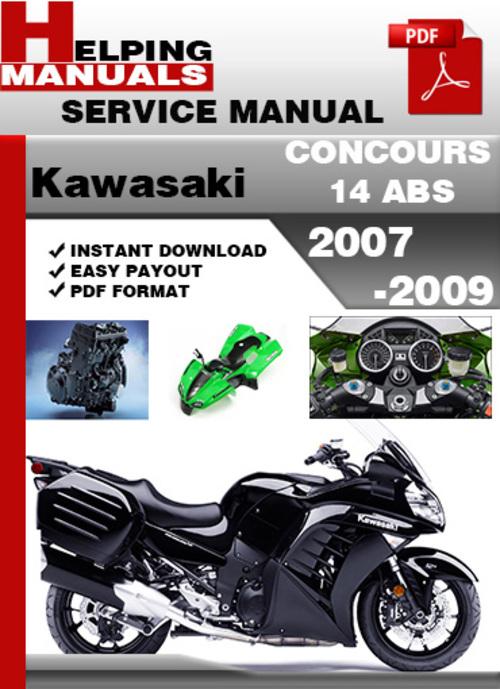 Kawasaki Concours Service Manual Download Pdf