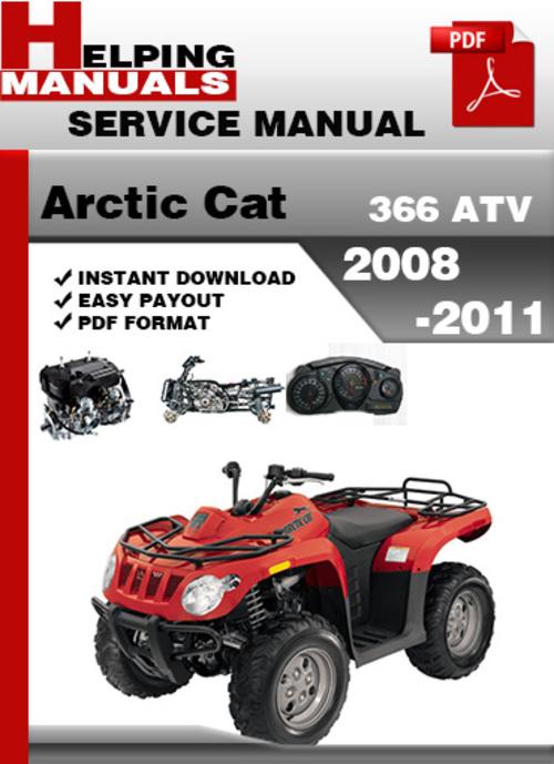 2008 arctic cat 366 service manual