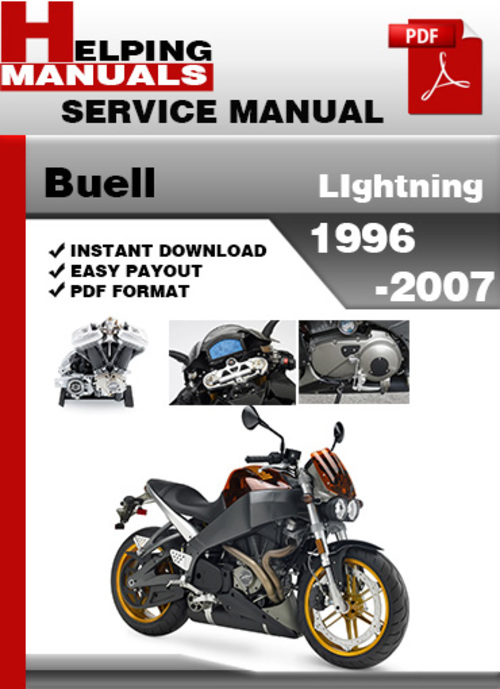 Pay for Buell LIghtning 1996-2007 Service Repair Manual Download