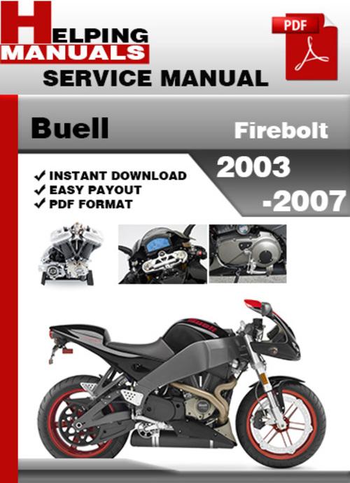 buell firebolt 2003 2007 service repair manual download download rh tradebit com 2007 Buell Firebolt Air Cleaner Buell Firebolt XB9R