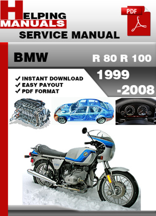 bmw r 80 r 100 1999 2008 service repair manual download. Black Bedroom Furniture Sets. Home Design Ideas