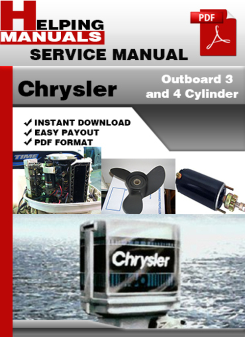 Download library outboard service manuals