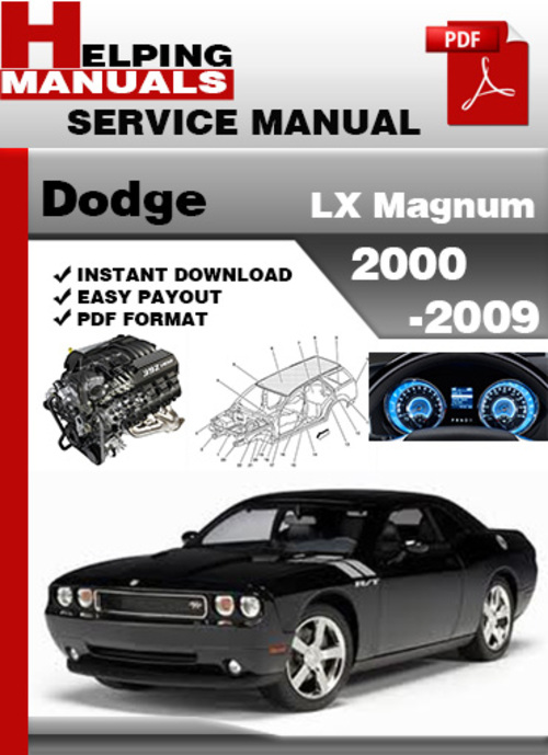 dodge lx magnum 2000 2009 service repair manual download. Black Bedroom Furniture Sets. Home Design Ideas