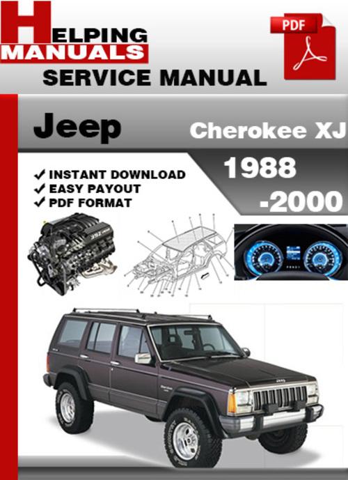 jeep cherokee xj 1988 2000 service repair manual download downloa rh tradebit com 1997 jeep cherokee xj service manual 2000 jeep cherokee xj service manual pdf