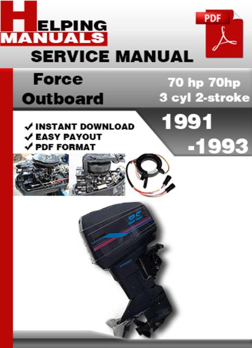 Mercury 99 Hp Outboard Manual