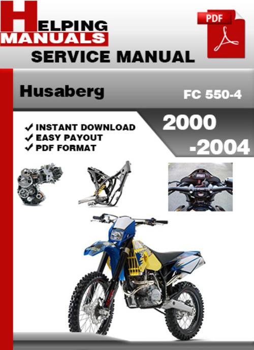 Free Husaberg FC 550-4 2000-2004 Service Repair Manual Download Download thumbnail